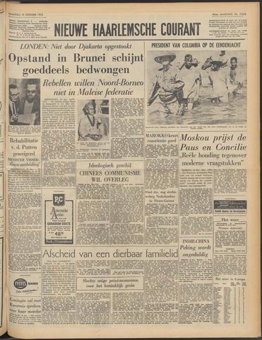 Nieuwe Haarlemsche Courant 1962-12-10