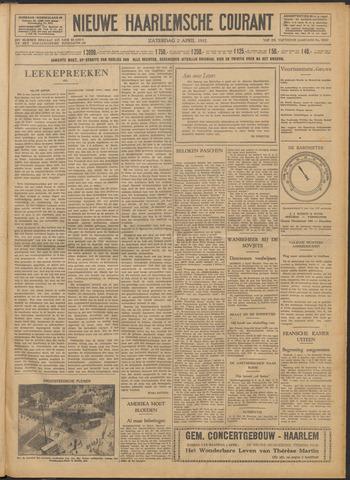Nieuwe Haarlemsche Courant 1932-04-02