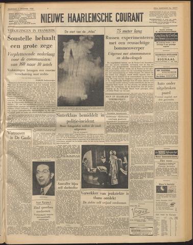 Nieuwe Haarlemsche Courant 1958-12-01
