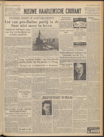Nieuwe Haarlemsche Courant 1952-11-22