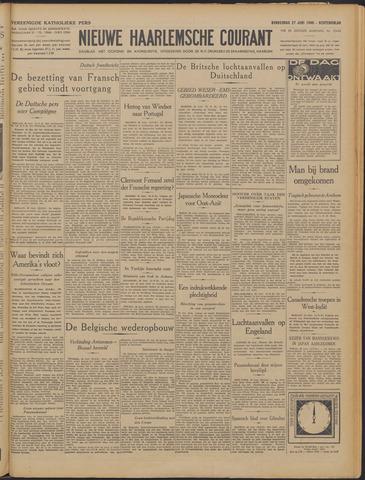 Nieuwe Haarlemsche Courant 1940-06-27
