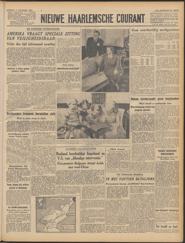 Nieuwe Haarlemsche Courant 1950-11-07