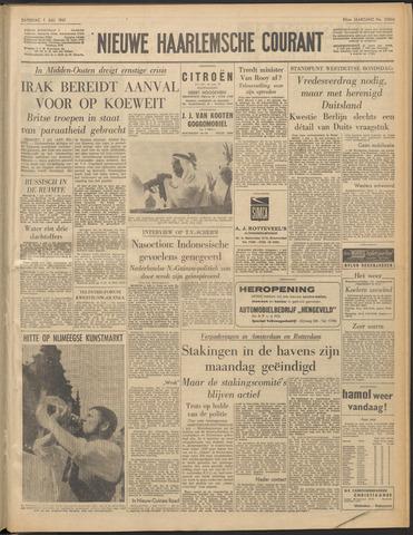 Nieuwe Haarlemsche Courant 1961-07-01