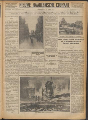 Nieuwe Haarlemsche Courant 1929-04-18