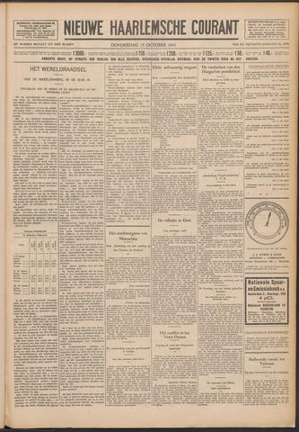Nieuwe Haarlemsche Courant 1931-10-15