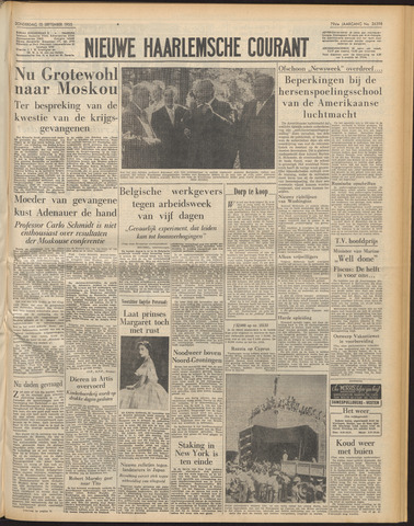 Nieuwe Haarlemsche Courant 1955-09-15