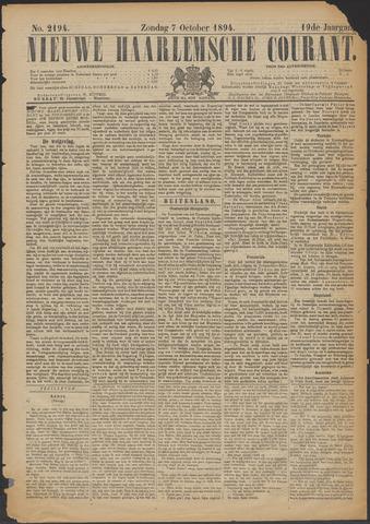 Nieuwe Haarlemsche Courant 1894-10-07