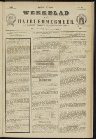 Weekblad van Haarlemmermeer 1884-06-27