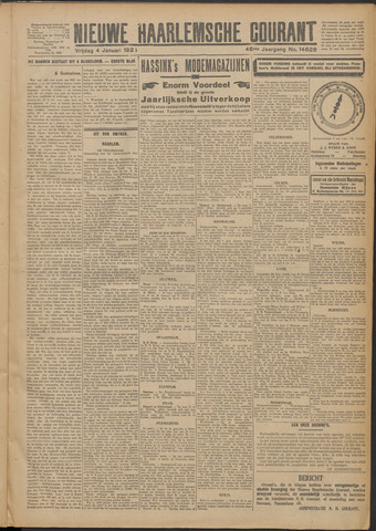 Nieuwe Haarlemsche Courant 1924-01-04