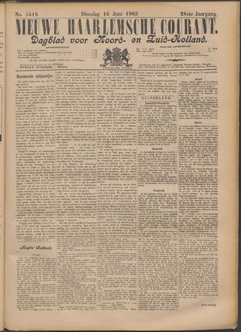 Nieuwe Haarlemsche Courant 1903-06-16