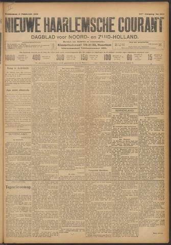 Nieuwe Haarlemsche Courant 1909-02-17