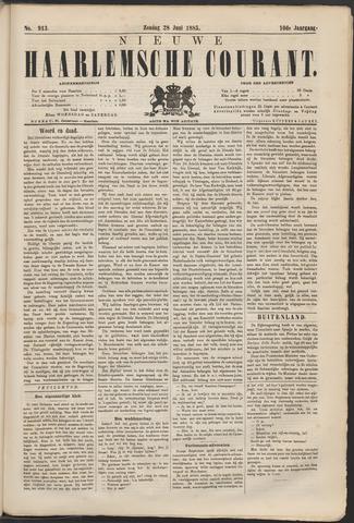 Nieuwe Haarlemsche Courant 1885-06-28