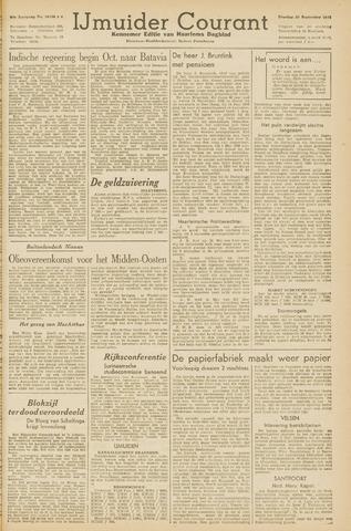 IJmuider Courant 1945-09-25