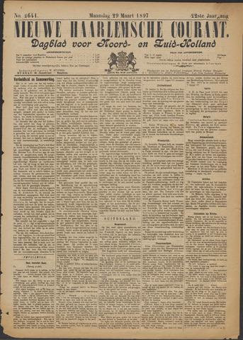 Nieuwe Haarlemsche Courant 1897-03-29