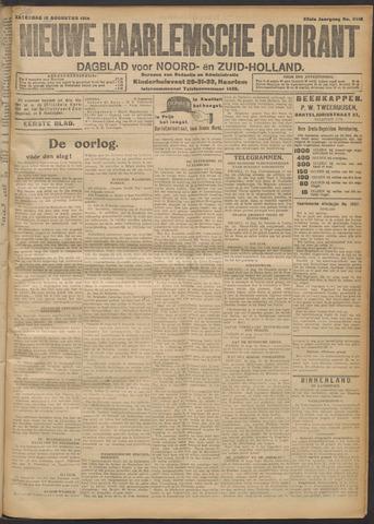 Nieuwe Haarlemsche Courant 1914-08-15