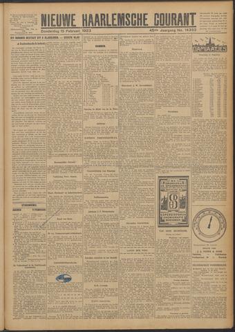 Nieuwe Haarlemsche Courant 1923-02-15