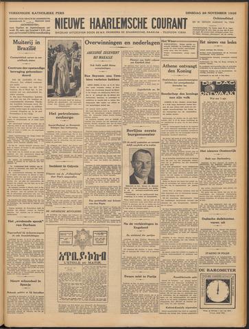 Nieuwe Haarlemsche Courant 1935-11-26