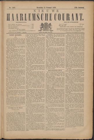 Nieuwe Haarlemsche Courant 1888-02-15