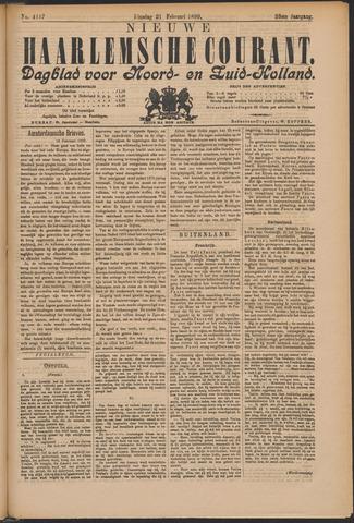Nieuwe Haarlemsche Courant 1899-02-21