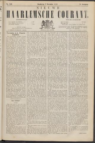 Nieuwe Haarlemsche Courant 1882-12-07