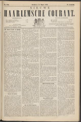 Nieuwe Haarlemsche Courant 1883-03-22