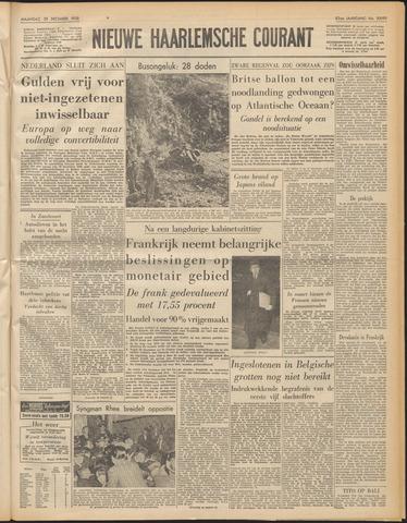 Nieuwe Haarlemsche Courant 1958-12-29