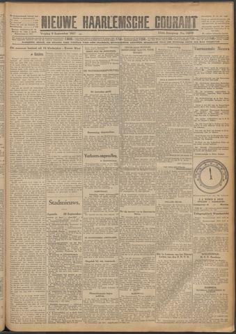 Nieuwe Haarlemsche Courant 1927-09-09