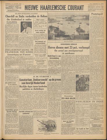 Nieuwe Haarlemsche Courant 1947-10-18