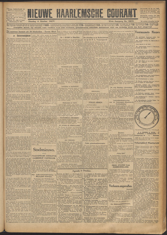 Nieuwe Haarlemsche Courant 1927-10-04