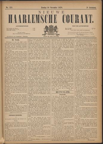 Nieuwe Haarlemsche Courant 1878-11-10