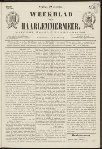 Weekblad van Haarlemmermeer 1860-01-20