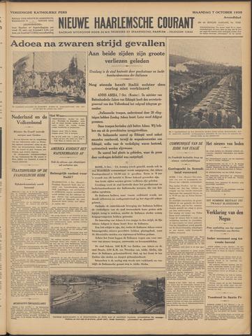 Nieuwe Haarlemsche Courant 1935-10-07