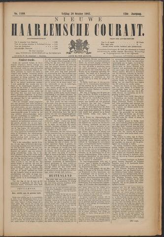 Nieuwe Haarlemsche Courant 1887-10-28