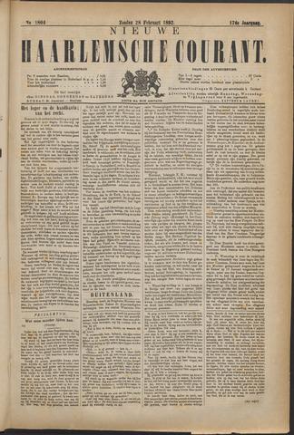Nieuwe Haarlemsche Courant 1892-02-28