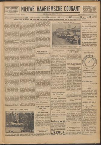 Nieuwe Haarlemsche Courant 1932-02-02