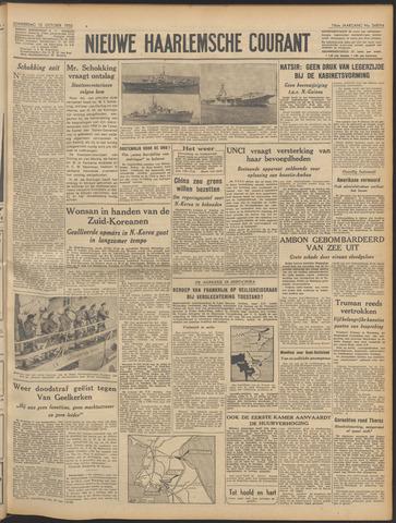 Nieuwe Haarlemsche Courant 1950-10-12