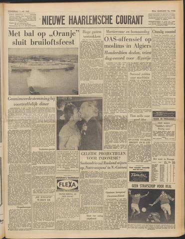 Nieuwe Haarlemsche Courant 1962-05-03