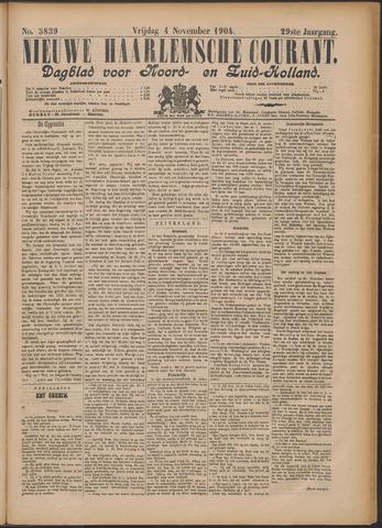 Nieuwe Haarlemsche Courant 1904-11-04