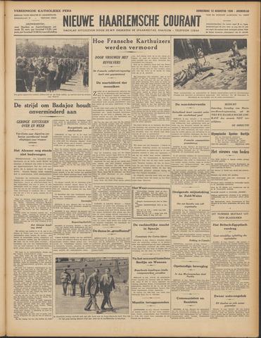 Nieuwe Haarlemsche Courant 1936-08-13