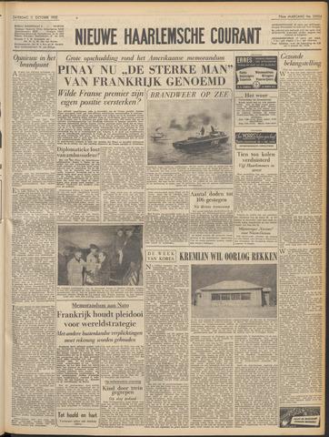 Nieuwe Haarlemsche Courant 1952-10-11