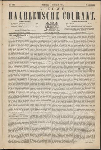 Nieuwe Haarlemsche Courant 1881-12-15