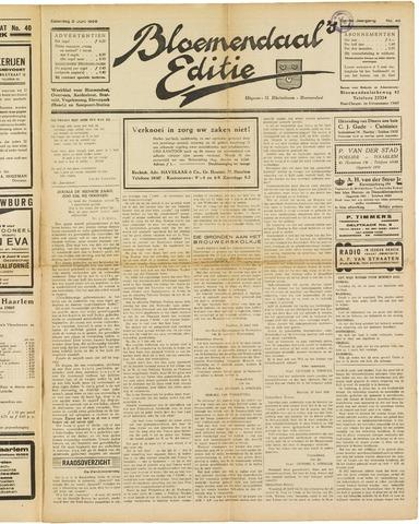 Bloemendaal's Editie 1928-06-02