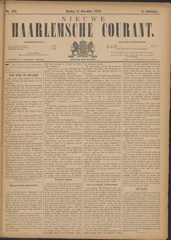 Nieuwe Haarlemsche Courant 1878-12-22