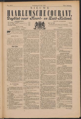Nieuwe Haarlemsche Courant 1899-06-22