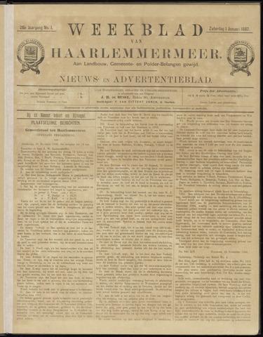 Weekblad van Haarlemmermeer 1887-01-01