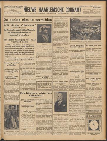 Nieuwe Haarlemsche Courant 1935-09-15