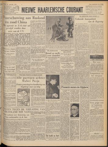 Nieuwe Haarlemsche Courant 1952-01-29