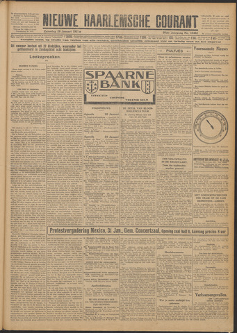 Nieuwe Haarlemsche Courant 1927-01-29
