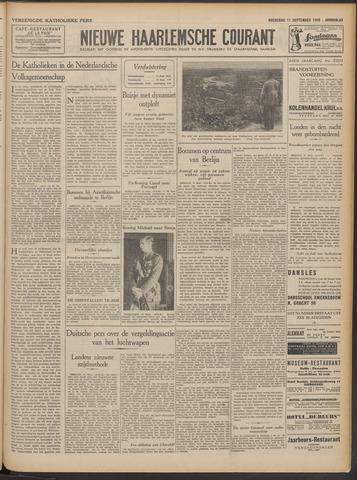 Nieuwe Haarlemsche Courant 1940-09-11
