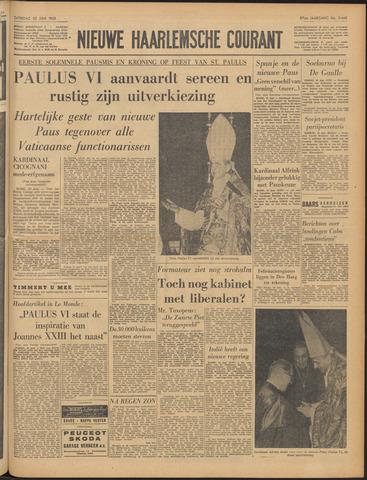 Nieuwe Haarlemsche Courant 1963-06-22